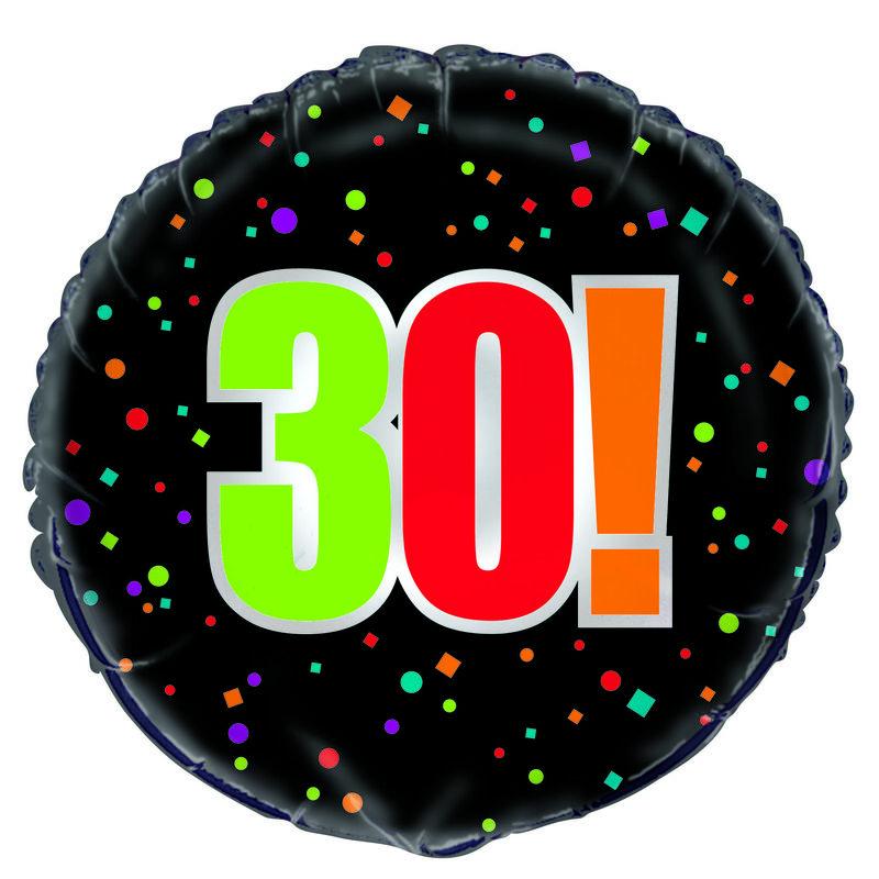 30TH FOIL