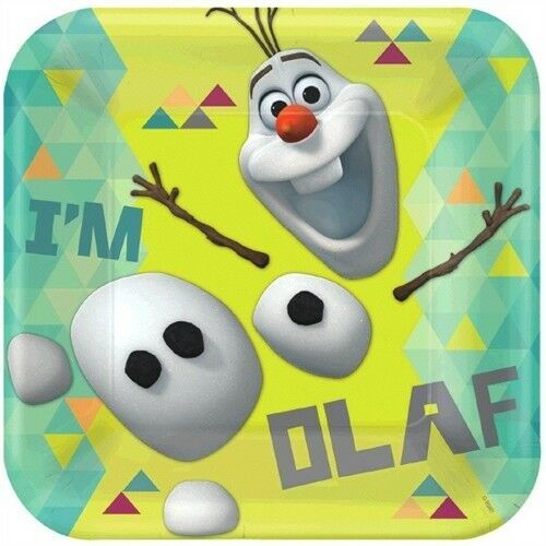 FROZEN DINNER PLATES OLAF