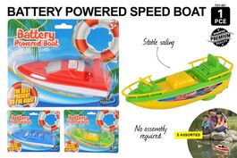 1PCE BATTERY POWERED BOAT