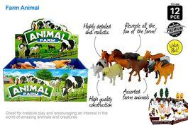 1PCE FARM ANIMAL 10 -15cm ASST