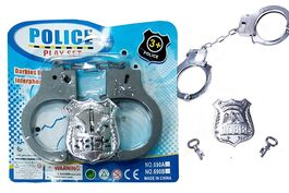 1PCE POLICE TOY HANDCUFF