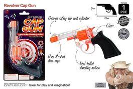 1PCE SUPER CAP GUN CLEAR