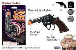 1PCE SUPER  CAP GUN BLACK