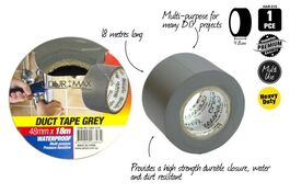 1PCE DUCT TAPE - GRAY 18m x 48mm