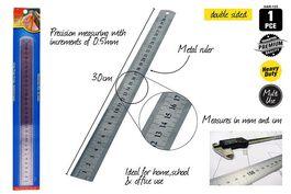 1PCE METAL RULER-30cm