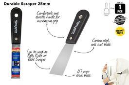 1PCE SCRAPER 2.5cm