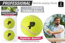 2PCE PROFESSIONAL TENNIS BALLS (H/B)