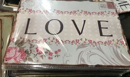 4D METAL TIN SIGNS-LOVE