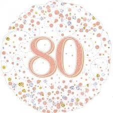 80TH FOILS