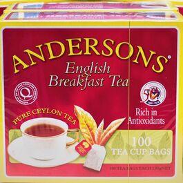 ANDERSONS - ENGLISH BREAKFAST TEA - 100 PACK