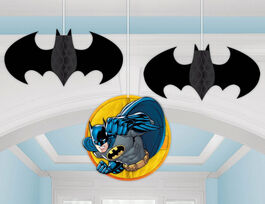 BATMAN HONEYCOMB DECORATION