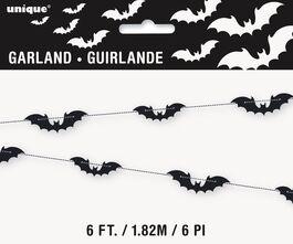 BLACK BATS GARLAND