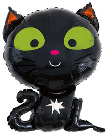 BLACK CAT GIANT FOIL BALLOON