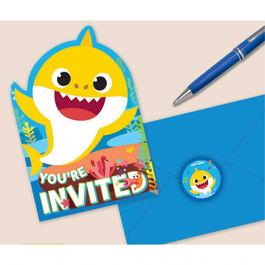 Baby Shark Invite