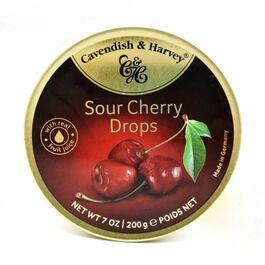 CAVENDISH & HARVEY - SOUR CHERRY DROPS - 200G