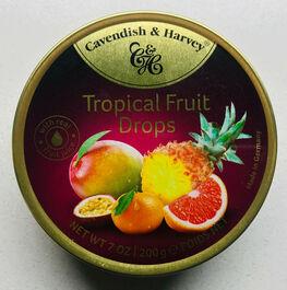 CAVENDISH & HARVEY - TROPICAL FRUIT DROPS - 200G