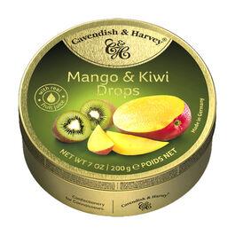 CAVENDISH & HARVEY - MANGO & KIWI DROPS - 200G