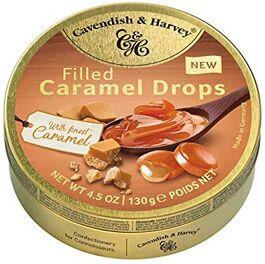 CAVENDISH & HARVEY - FILLED CARAMEL DROPS - 130G