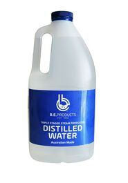 B.E. PRODUCTS - DISTILLED WATER - 2L