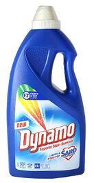 DYNAMO SUPERIOR STAIN REMOVAL WITH A BOOST OF SARD LIQUID LAUNDRY