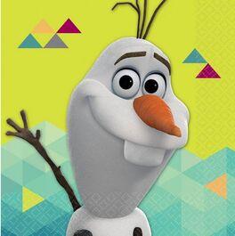 FROZEN BEVERAGE NAPKINS OLAF