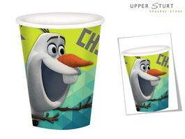 FROZEN PAPER CUPS OLAF CHILLIN