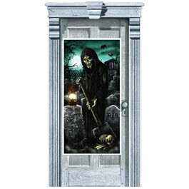 HALLOWEEN DOOR DECORATIONS - CEMETERY