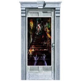 HALLOWEEN DOOR DECORATIONS -  HAUNTED MANSION