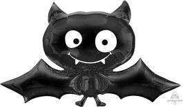 HALLOWEEN FOIL BALLOON SUPERSHAPE BAT