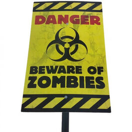 HALLOWEEN YARD SIGN - ZOMBIE