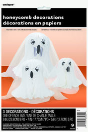 HONEYCOMB DECORATION GHOSTS