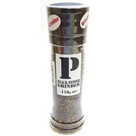 MEDALLION - BLACK PEPPER GRINDER - 170G