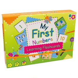 Meadow Kids 'My First Numbers' Learning Flashcards