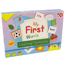Meadow Kids 'My First Words' Learning Flashcards