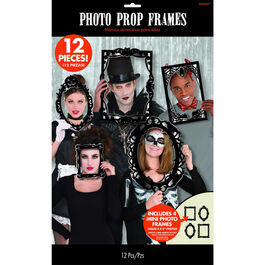 PHOTO BOOTH GOTHIC ASSORTED DESIGNS & SIZES FRAMES PROPS