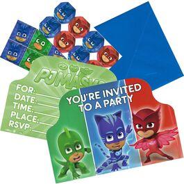 PJ MASK INVITATIONS