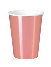 ROSE GOLD FOIL CUPS 12 OZ