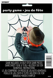 SPIDER WEB BLINDFOLD GAME