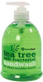 SWISSCARE TEA TREE ANTI-BACTERIAL HAND WASH 500ML