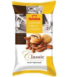 TATAWA - CLASSIC - ALMOND CREAM COOKIES - 70G