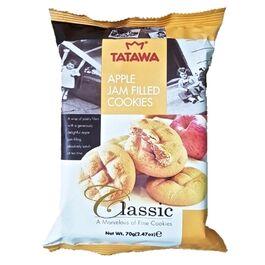 TATAWA - CLASSIC - APPLE JAM FILLED COOKIES - 70G