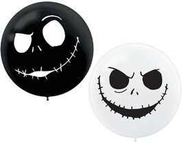 """THE NIGHTMARE BEFORE CHRISTMAS GIANT BALLOONS"