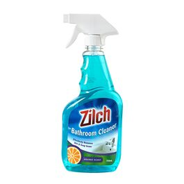 ZILCH - BATHROOM CLEANER - ORANGE SCENT - 750ML